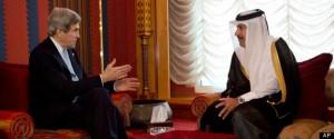 John Kerry, Sheik Hamad bin Jassim Al Thani