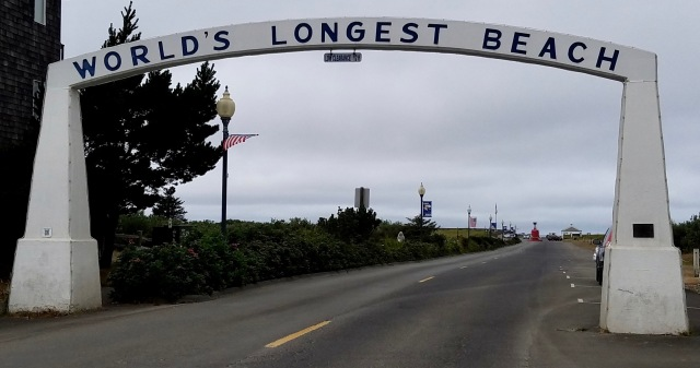 Long Beach, Washington. The world's longest beach.
