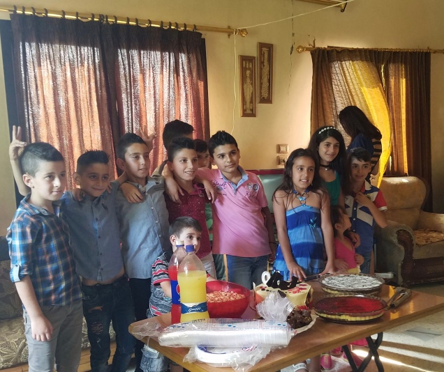 Gibran's birthday party.