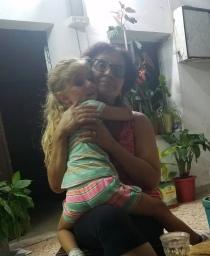 Naya and Tayta Julia.